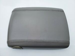 03 06 Gmc Yukon Sierra Denali Center Console Door Lid Armrest Oem Pewter Grey