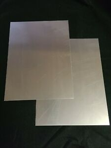 12 Gauge Mild Steel Sheet Metal Plate 9x12 Inches 105 Thick 2pc