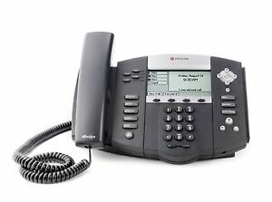 Polycom Soundpoint Ip550 With Power Supply New