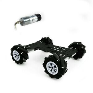 Robot Smart Car Chassis 4wd 360 Omnidirectional 250rpm For Raspberry Pi Stm32