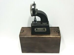 Federal Products Corporation Dial Indicator 1 1000 Vintage