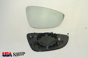 Passenger Side Mirror Glass Heated Fit For Vw Cc Eos 2011 2016 Rh Usa Ship