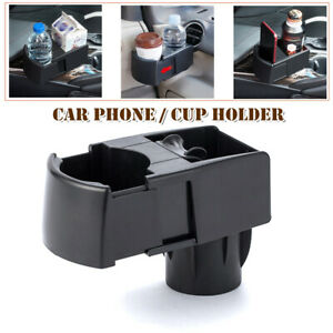 Calable Car Sdual Cup Holder Drink Ashtray Mobile Phone Bracket Storage For Suv