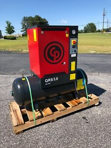 Used Chicago Pneumatic 5 Hp Rotary