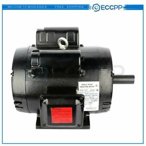 7 5 Hp Air Compressor Duty Electric Motor 184t Frame 3450 Rpm Single Phase 60 Hz