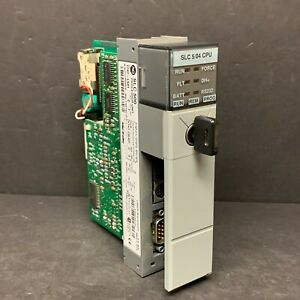 Allen Bradley 1747 l541 Ser C Slc 500 5 04 504 Cpu Processor Unit 16k Words Plc