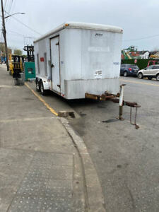 Pace American Enclosed Trailer with Title