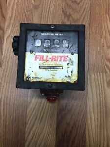 Tuthill 900 Series Fill rite Meter For Use W Electric Fuel Transfer Pumps