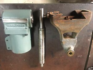 Right Angle Milling Head Attachment Horizontal R8 W arbor Support Bridgeport
