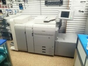 Canon Imagepress C60 With Booklet Finisher Stapler Paper Pod