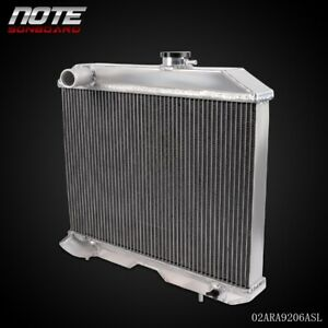 For 1941 1952 Jeep Willys Mb Ford Gpw Cj 2a M38 Aluminum Performance Radiator