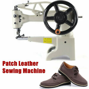 Diy Patch Leather Sewing Machine Shoe Repair Boot Patcher Throat 11 8 Inch