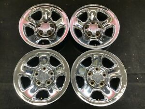 17 Dodge Ram 1500 Pick Up 2002 2012 Steel Chrome Wheels Factory Rims 2162