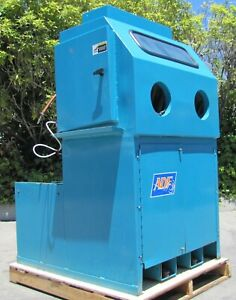 Adf Systems Glovebox Heated Parts Washer With Two Spray Guns