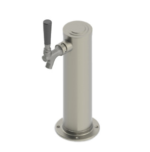 Ubt Single Tap Brushed Ss Draft Beer Tower All Stainless Steel Contact 3 New