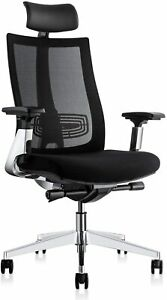 Ergonomic Adjustable Office Chair Computer Desk Chair With Lumbar Support