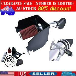 4 For 94 01 Dodge Ram 1500 V8 5 2 5 9l Heat Shield Cold Air Intake Red Filter