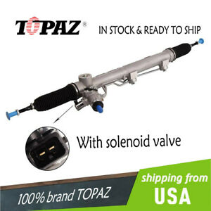 Power Steering Rack Pinion With Solenoid Valve Fits Mercedes Ml350 Gl320 Gl450