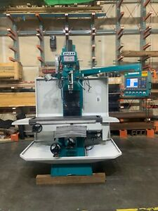 Clausing Atlas Cnc Vertical Bed Mill 15 X 60 Table 3 Axis Cnc