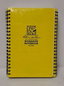 Side Spiral Contractors Notebook 6 Pack