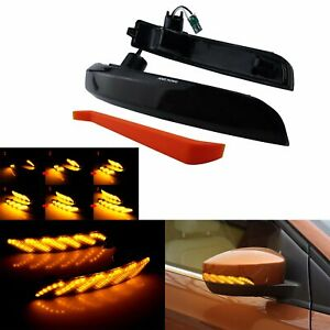 Dynamic Led Side Mirror Turn Signal Light For Ford Kuga Escape Ecosport 2013 18