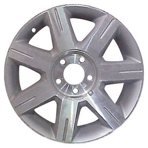 Oem Used 17x7 Alloy Wheel Sparkle Silver With A Machined Face 560 04600