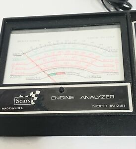 Sears Vnt Engine Analyzer 161 2161 Preowned No Box Or Instructions As Is