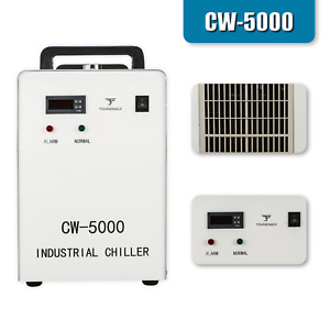 Cw 5000 Industrial Water Chiller For 80w 100w Co2 Engraving Cutting Machine