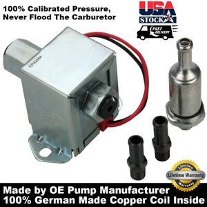 Electric Fuel Pump Universal 12v 4 7 Psi Gas Diesel Mazda For Ford 6414671