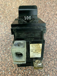 Pushmatic 100a P2100a Bulldog 2 Pole Main Circuit Breaker
