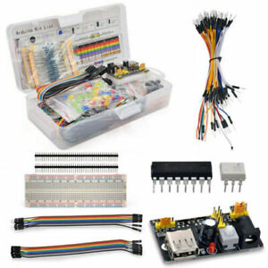 Complete Electronic Component Basic Starter Kit Led Resistor For Arduino Project