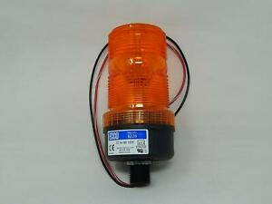 Ecco 6226a Warning Lights Strobe Beacon Amber 1 2 Pipe Mount T149630