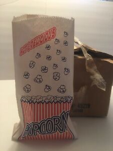 Popcorn Bags 1 Case Of 500 1 5oz