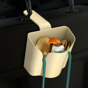 Multi Function Car Accessories Back Chair Seat Hook Bag Hanging Holder Trash Can