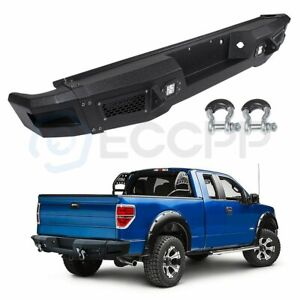 New Face Bar Steel Rear Bumper Assembly For 09 11 Ford F 150 Standard Guard