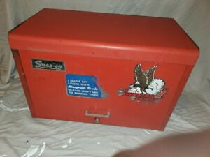 Vintage Snap On Tools Kra 59c 9 Nine Drawer Tool Chest Box Cabinet 1979 With Key