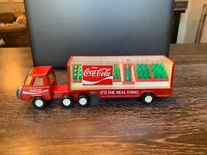 Vintage Buddy L Semi Truck / Complete set of Bottles/Including the Large Bottle