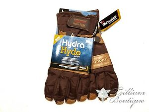Wells Lamont Hydra Hyde Waterproof Cold Weather Leather Gloves Men s Large New