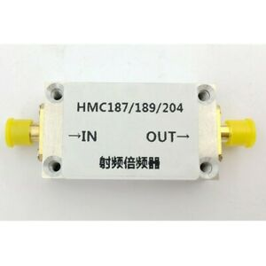 Hmc187 Rf Frequency Multiplier Frequency Doubler With Shell Rf Input 0 87 2ghz
