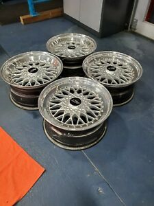 Act Basket Weave Bbs Rs Style Rims Rare Motorsport