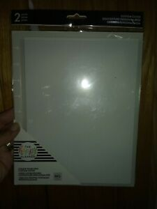 New The Happy Planner 2 Pk Diy Custom Covers Classic Clear 2 Diffent Kinds