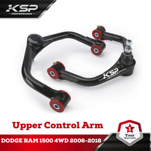Front Upper Control Arms For 2 4 Lift For 2006 2018 Dodge Ram 1500 4wd 4x4