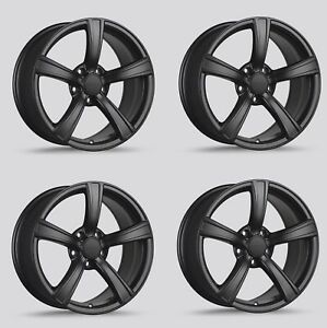 Drag Dr 72 Wheels 18x9 5 5x114 3 Black Rims For Honda Accord Crv Odyssey Civic