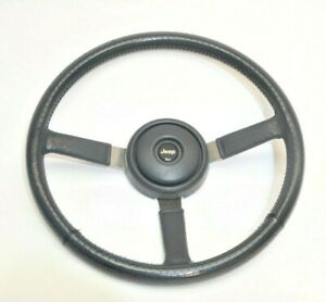 Jeep Wrangler Yj 87 95 Gray Leather Steering Wheel Horn Button Cap