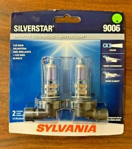 Sylvania Silverstar 9006 Halogen Bulb New Sealed Retail Package Free Shipping