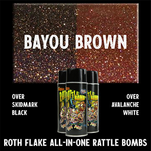 Brown Roth Flake All In One Bayou Brown Spray Paint Cheap Shipping