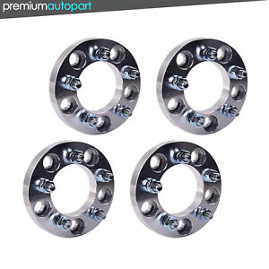 4pcs Wheel 5x5 To 5x4 5 Spacers Adapters 1 12x1 5 Studs 5x127 To 5x114 3