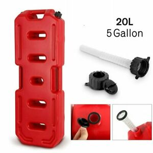 20l Fuel Tank Gas Oil Petrol Storage Jerry Can Container For Car Suv Atv Utv