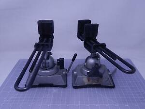 Lot Of 2 Panavise 2898068 Head Vise Clamp With Suction Base T143203