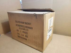 Kentucky 20 Liter Mop Bucket With Wringer Commercial